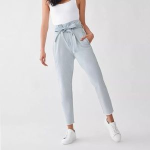 DL1961 Paper Bag High Rise Jeans